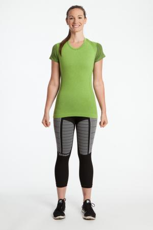 3.0 Capped Short Sleeve Light Compression