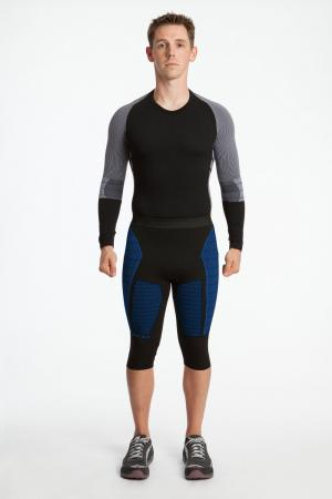 4.0 Men's MAX Compression Tights Knee-Inseam Measurements Below Under Tech Specs