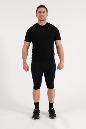 4.0 Men's MID Compression Tights Knee- Inseam Measurements Below Under Tech Specs