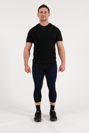 4.0 Men's MID Compression Tights 3/4-Inseam Measurements Below Under Tech Specs