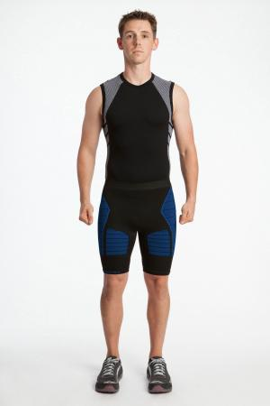 4.0 Men's MAX Compression Shorts 3/4 (Long Length) Inseam Measurements Below Under Tech Specs