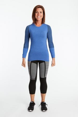 2.0 Long Sleeve Heathered Form Fit