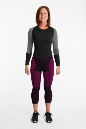 4.0 Women's MAX Compression Tights 3/4 (Mid Rise Waist)