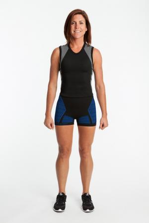 4.0 Women's MAX Compression Shorts (Mid Rise Waist)